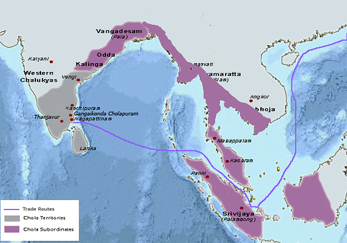 Rajendra Chola's Empire
